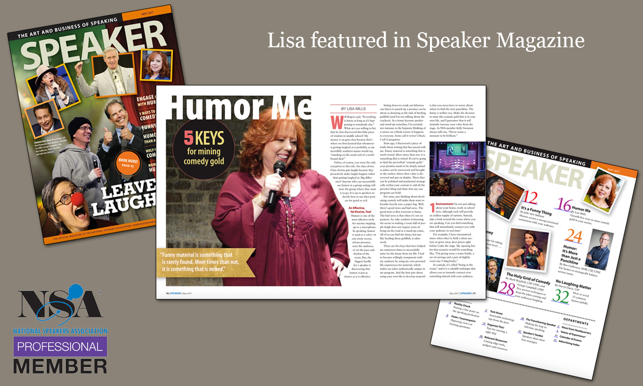 Lisa is often featured in publications around the country. Take a look!